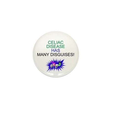 Celiac disease disguises Mini Button (10 pack)