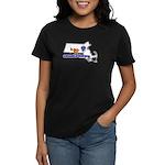 ILY Massachusetts Women's Dark T-Shirt