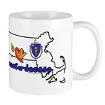 ILY Massachusetts Mug