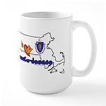 ILY Massachusetts Large Mug