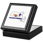 ILY Massachusetts Keepsake Box