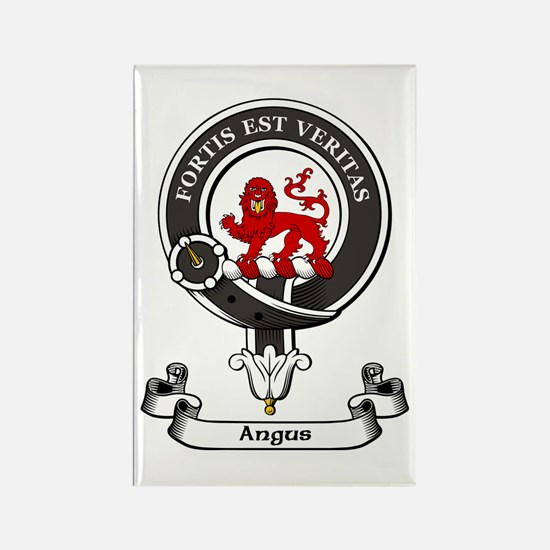Badge - Angus Rectangle Magnet