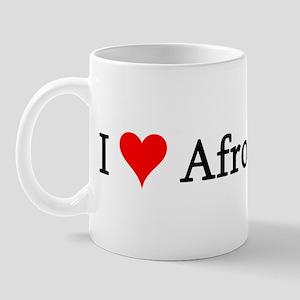 I Love Afro-Cubans Mug