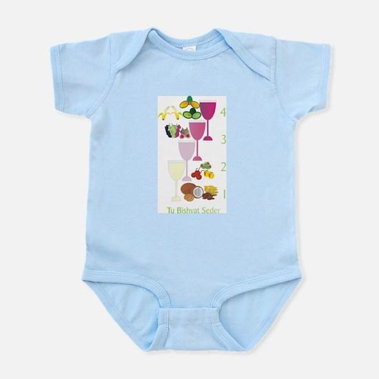 Tu B'shvat Seder Infant Bodysuit