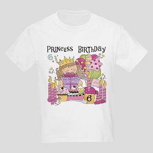 Party Princess 6th Kids Light T-Shirt
