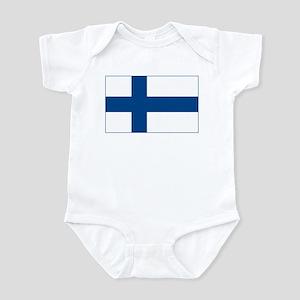 Finland Flag Infant Creeper