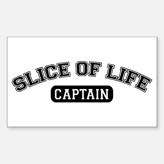 Slice of Life Captain Rectangle Decal