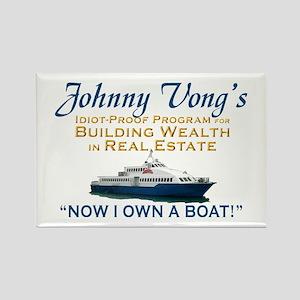 Castle Johnny Vong Rectangle Magnet