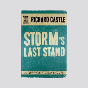 Retro Storm's Last Stand Rectangle Magnet