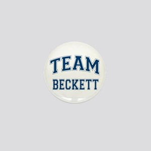 Castle Team Beckett Mini Button