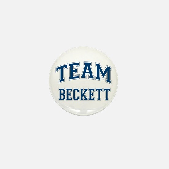 Castle Team Beckett Mini Button