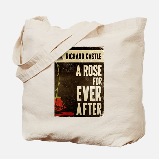 Retro Castle Rose For Everafter Tote Bag