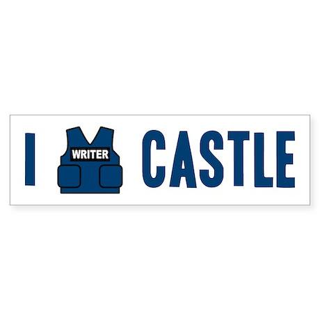 I Love/Vest Castle Sticker (Bumper)