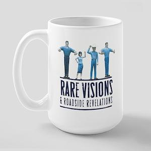 """Rare Visions """"Muffler Men"""" Large Mug"""