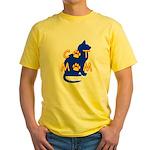 Cat Mom Yellow T-Shirt