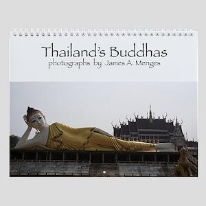 Thailand's Buddhas Wall Calendar