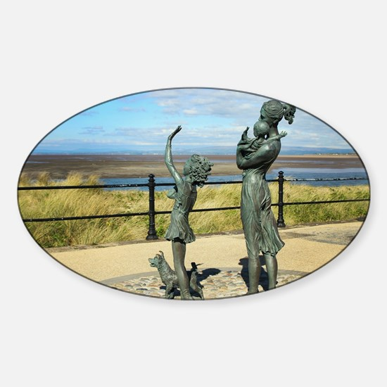 Welcome Home Statue by Anita Lafford on th Decal