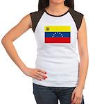 Venezuela Flag Women's Cap Sleeve T-Shirt