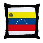 Venezuela Flag Throw Pillow