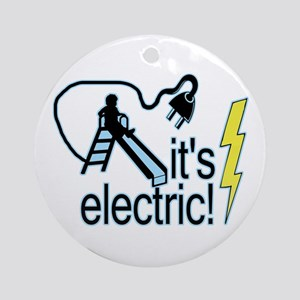 The Electric Slide Ornament (Round)