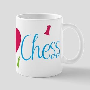 I Heart Chess Mug