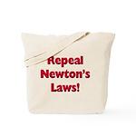 Repeal Newton's Laws Tote Bag