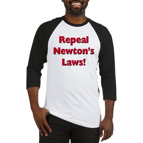 Repeal Newton's Laws Baseball Jersey