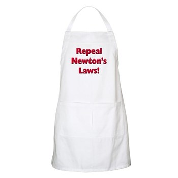 Repeal Newton's Laws Apron
