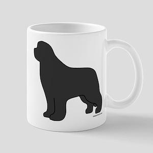 Gray Newfoundland Silhouette Mug