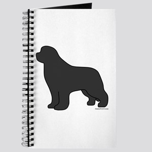 Gray Newfoundland Silhouette Journal
