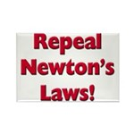 Repeal Newton's Laws Rectangle Magnet (100 pack)