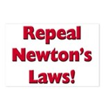 Repeal Newton's Laws Postcards (Package of 8)