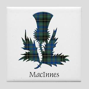 Thistle - MacInnes Tile Coaster