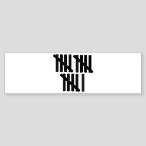 16th birthday Sticker (Bumper)