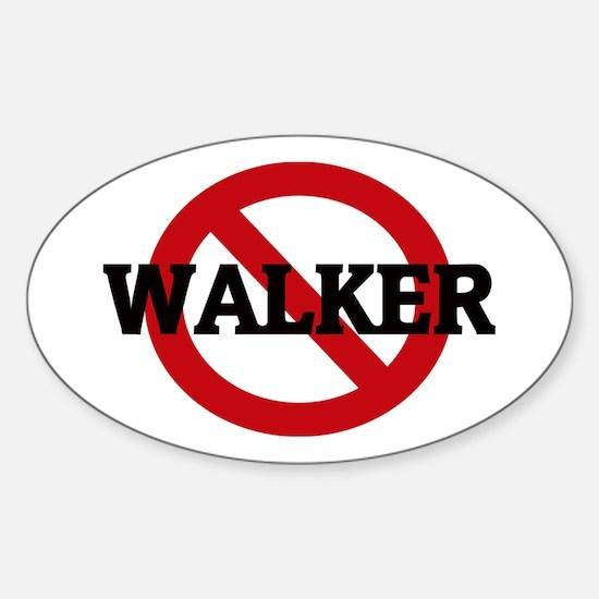 Anti-Walker Oval Decal