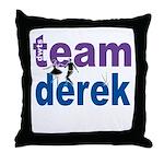 Team Derek DWTS Throw Pillow