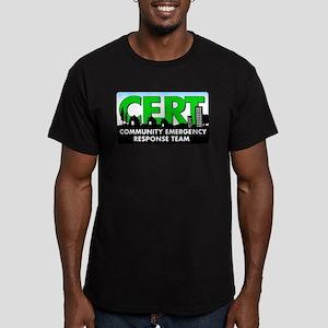 Official CERT Men's Fitted T-Shirt (dark)