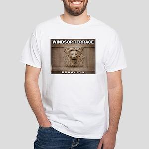 Windsor Terrace Lion White T-Shirt