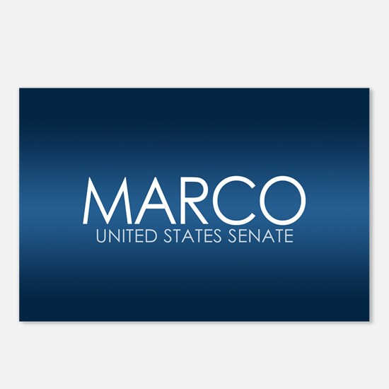 MARCO RUBIO 2010 Postcards (Package of 8)