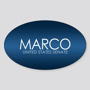 MARCO RUBIO 2010 Sticker (Oval)