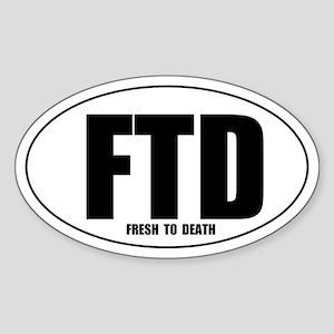 FTD Sticker (Oval)