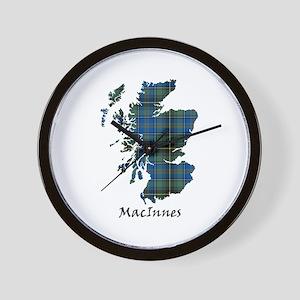 Map - MacInnes Wall Clock