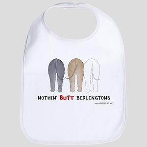 Nothin' Butt Bedlingtons Bib