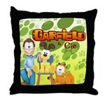 Garfield & Cie Logo Throw Pillow