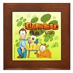 Garfield & Cie Logo Framed Tile