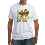 Garfield & Cie Logo Fitted T-Shirt