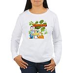 Garfield & Cie Logo Women's Long Sleeve T-Shirt