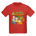 Garfield & Cie Logo Kids Dark T-Shirt