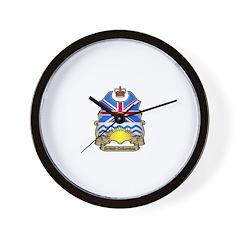 B.C. Shield Wall Clock