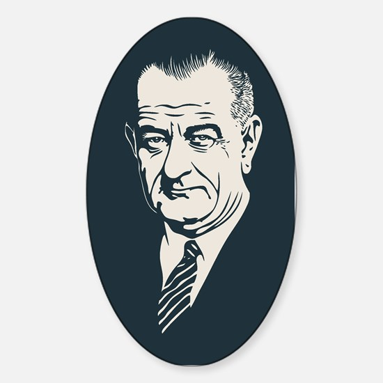 LBJ Sticker (Oval)